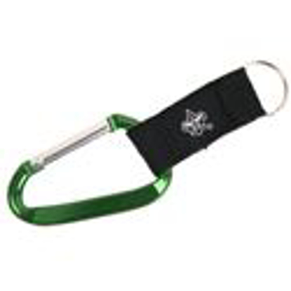 "Picture of 3"" Carabiner w/ Strap & BSA® Branding"