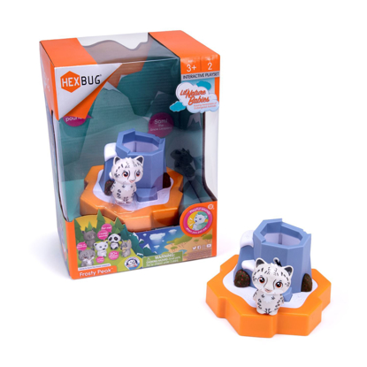 Picture of HEXBUG Nature Babies - Snow Leopard
